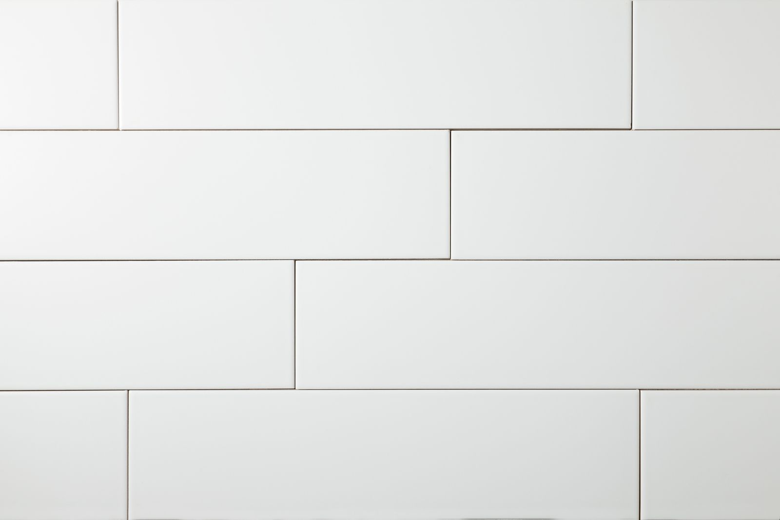 Rosco and keaton shower wall 4x16 matte white for White subway tile