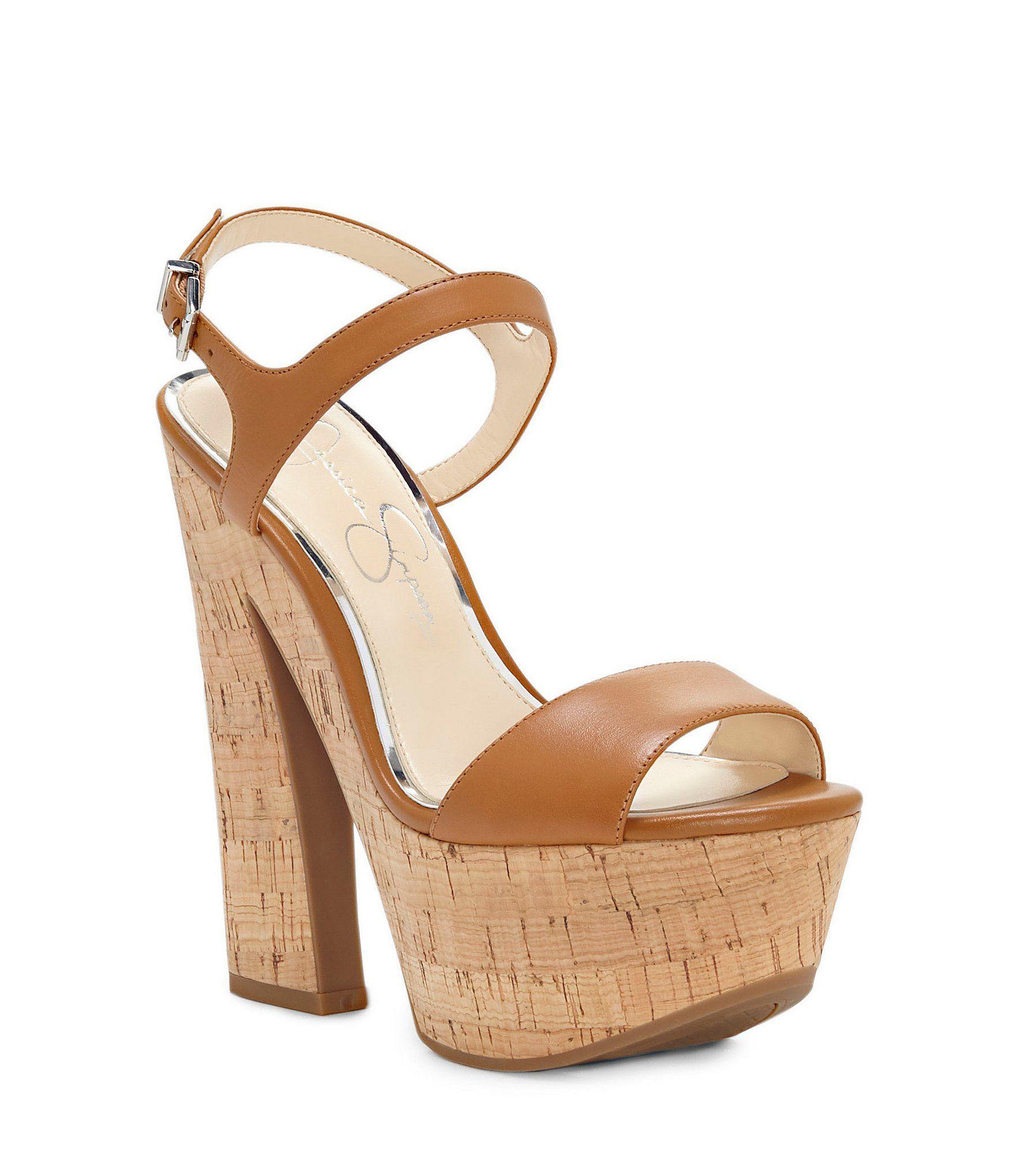 93a67f227f4 Jessica Simpson Divella Platform Sandals  Dillards