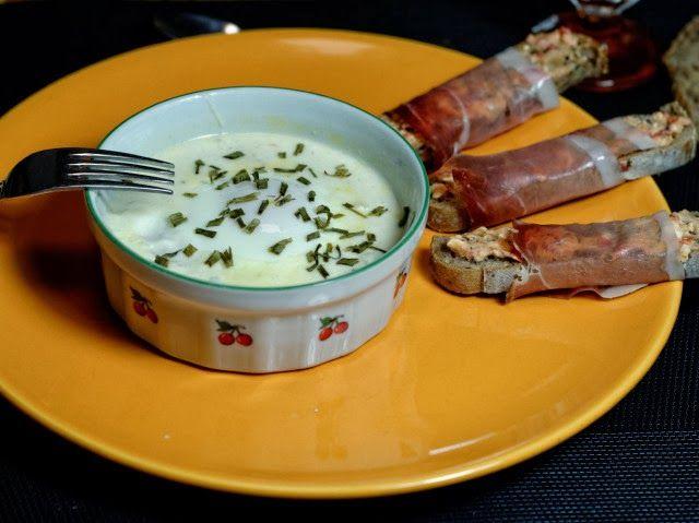 Œufs cocotte au potiron et trois fromages www.macuisineetvous.com