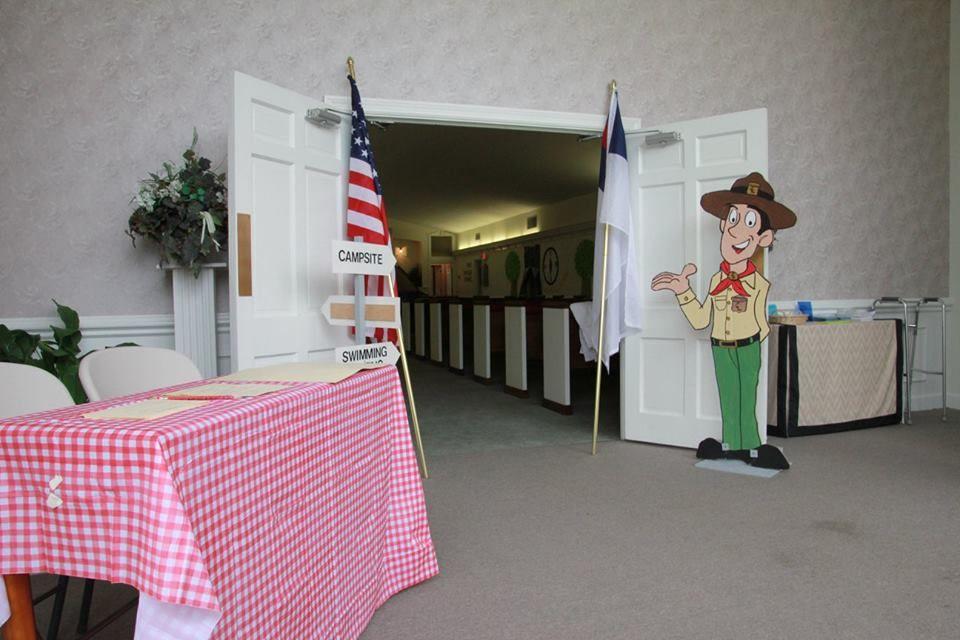 Camp Courageous VBS - Entrance