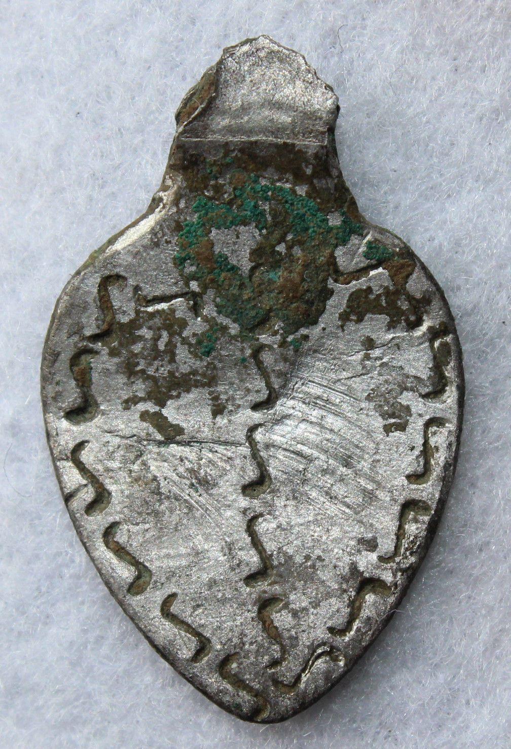 Ancient Scandinavian Viking Silver Snake Decorated Pendant Amulet 900 Ad Ancient Jewelry Pendant Viking Jewelry