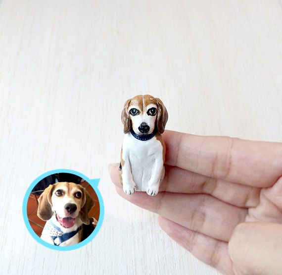 Custom dog portraits brooch  Full body Portrait of by CatBrothers what a unique Etsy shop!