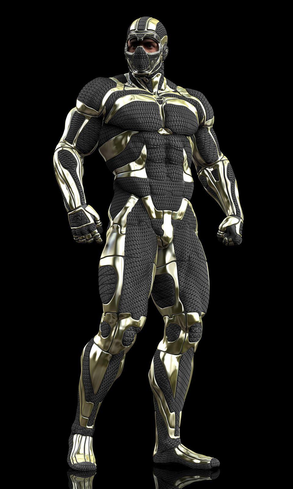 Biosuit Engineer Futuristic Armour Armor Concept Mech Suit