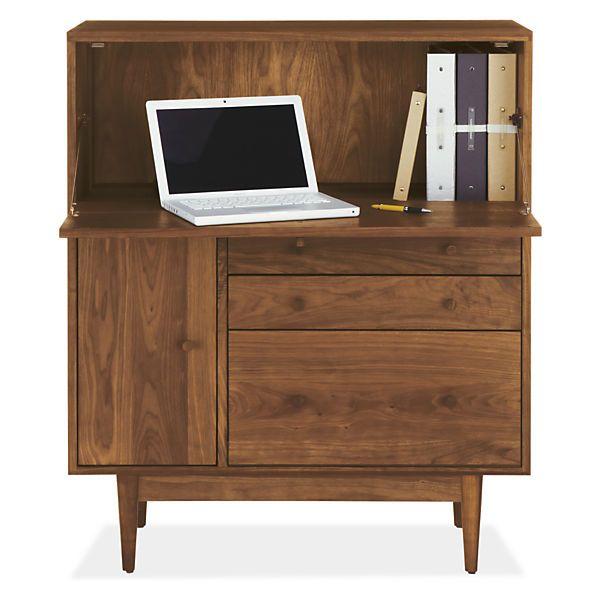 Grove Modern Office Armoire   Modern File Storage   Modern Office Furniture    Room U0026 Board