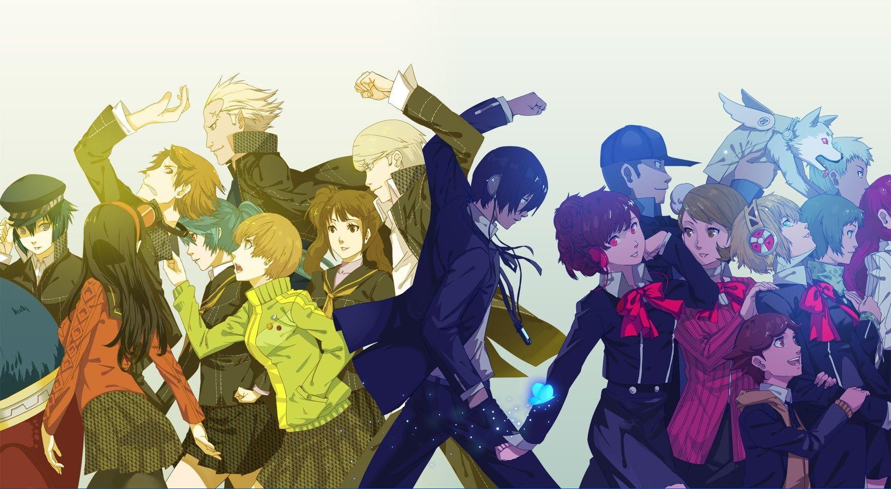 anime illustration Persona 4 Persona 3 Persona 3 Portable