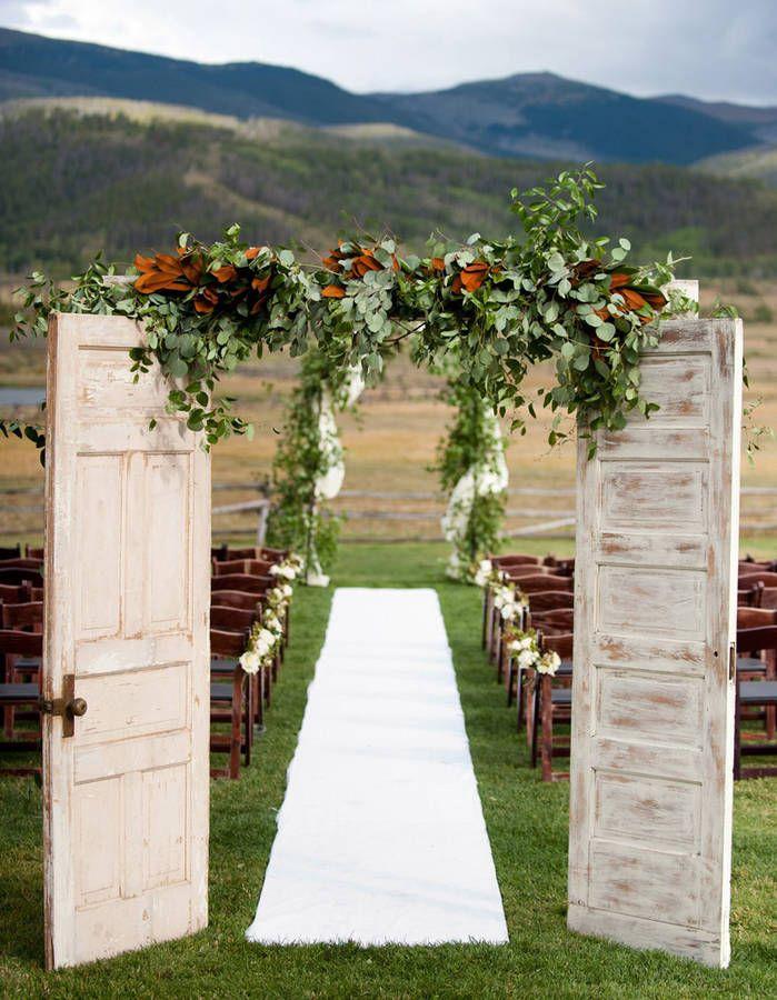 Cérémonie de mariage  20 idées déco inoubliables - Elle Décoration