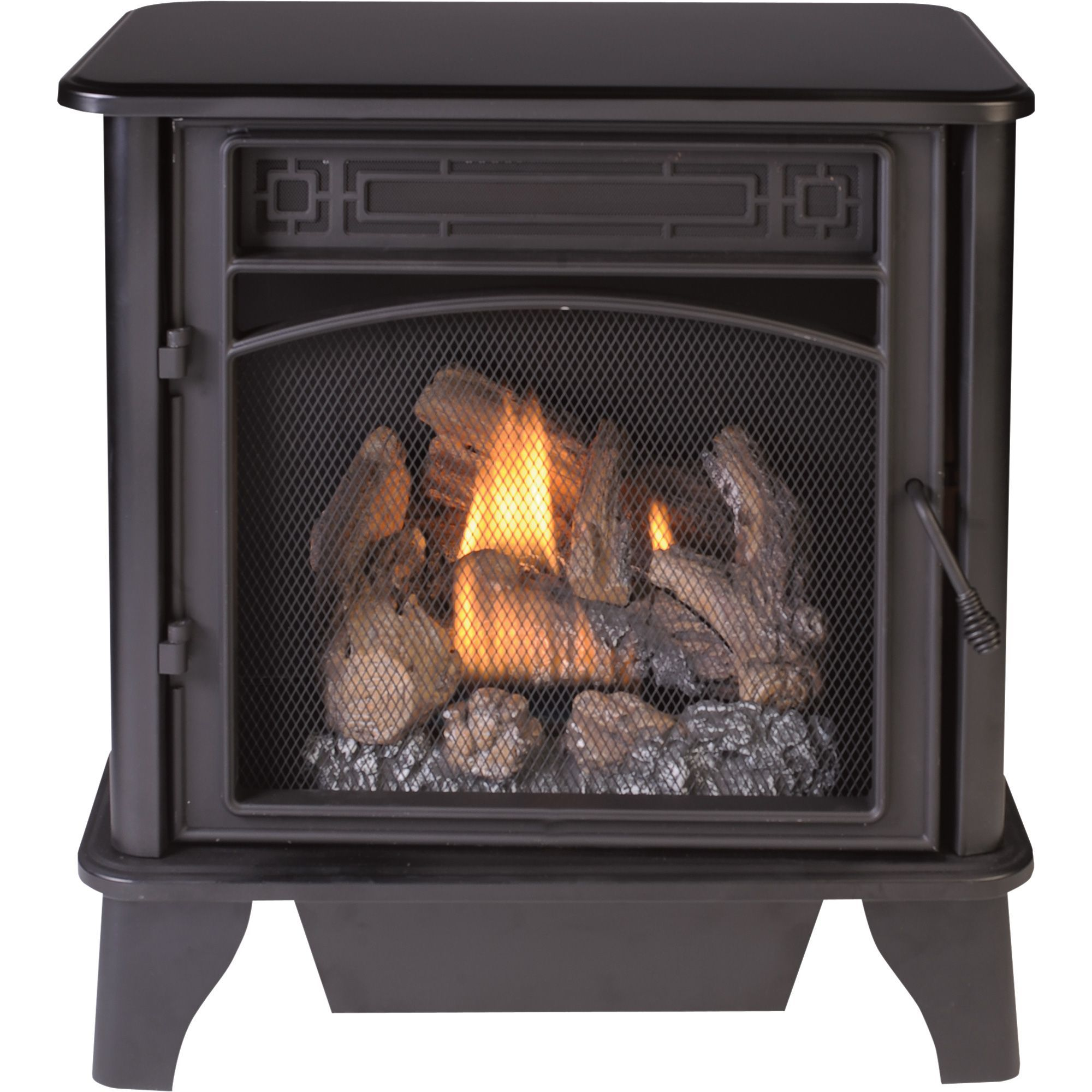 This Procom Dual Fuel Vent Free Stove Provides A Combination Of