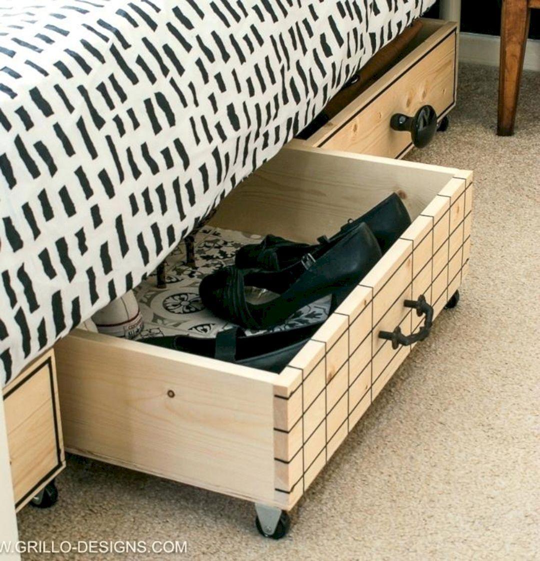 20 Top DIY Bedroom Storage Design For Best Organization