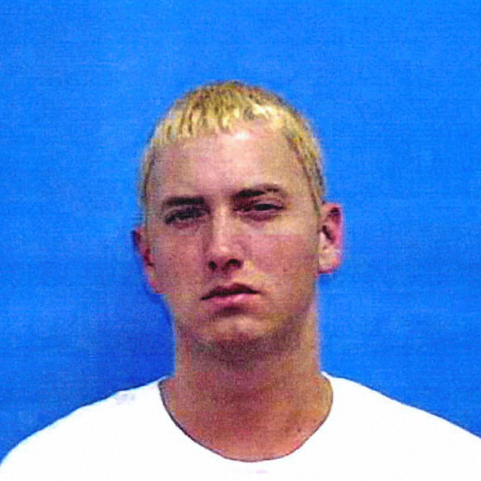 Eminem mugshot best celebrity mugshots celebrity