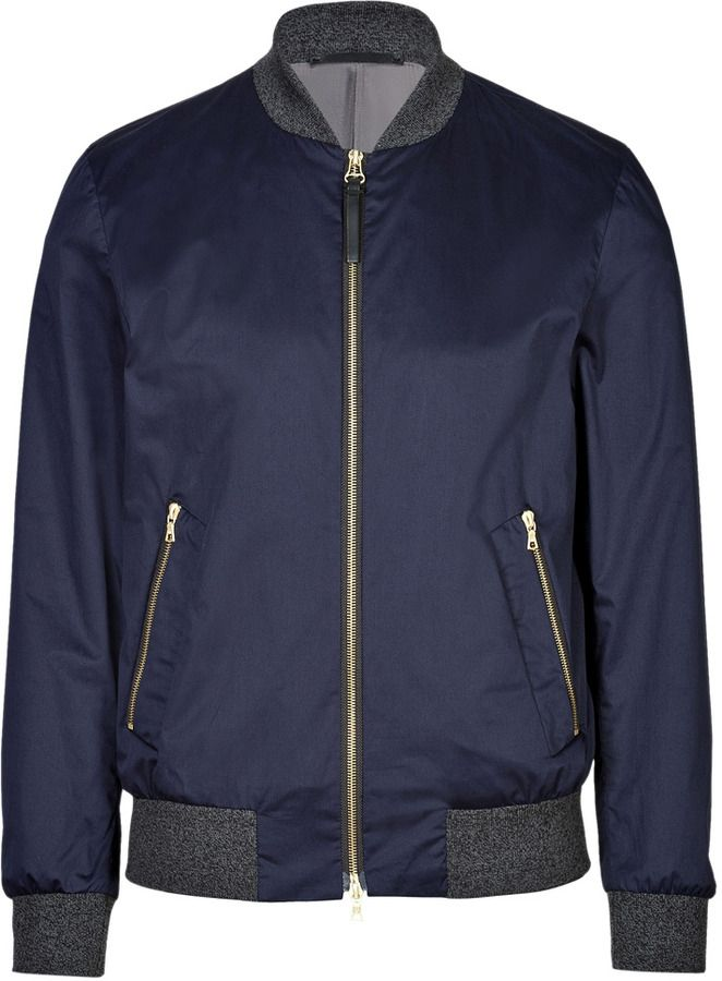 035a848a0a6 Navy Bomber Jacket by Paul Smith. Buy for  423 from STYLEBOP.com ...