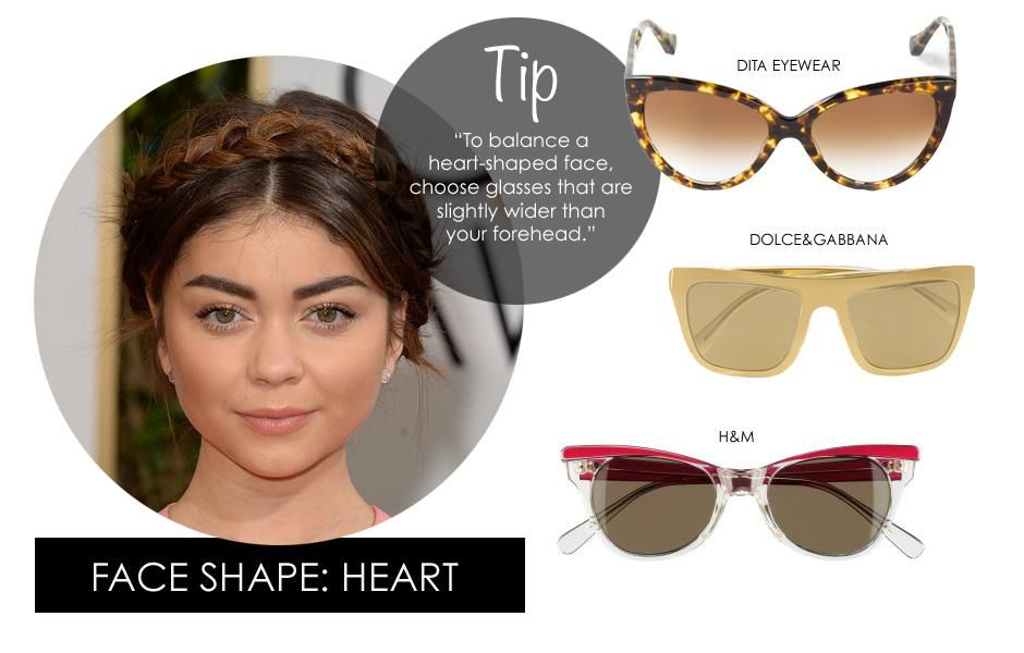Picking sunglasses for heart shaped faces Sunnies ...