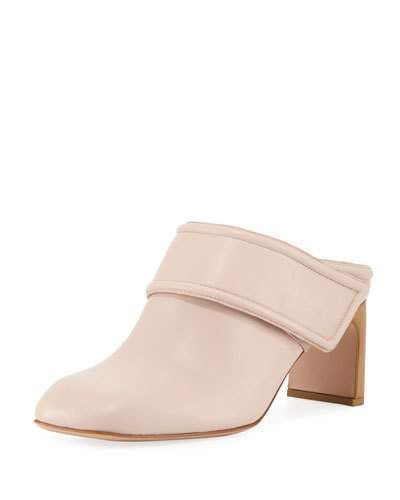 211c0a75c0e21 Rag & Bone Elliot Mid-Heel Leather Mule   Products   Leather mules ...