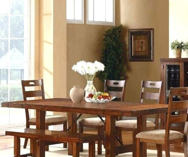 33++ Dark oak dining table and 6 chairs Top