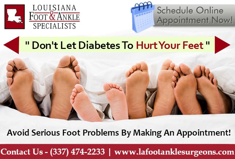 Diabetes Foot Care Specialists In Louisiana Our team of