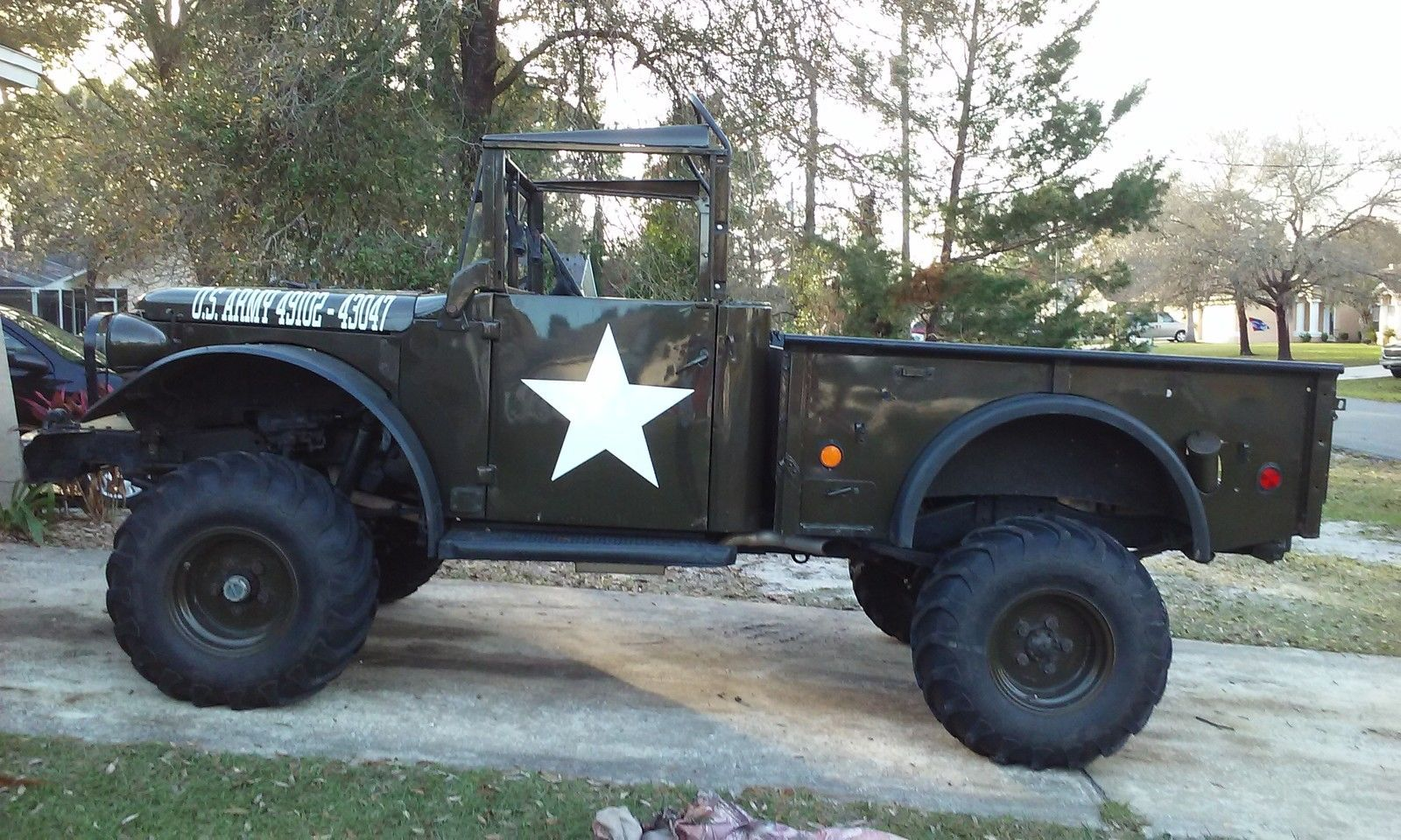 Dodge M37 Restored Army Truck Chevy V 8 For Sale In Spring Hill