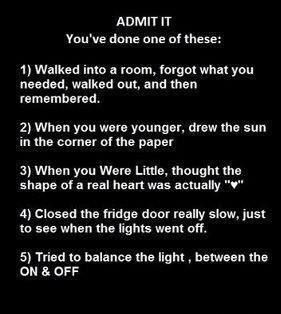 Ive done them alll :) haha