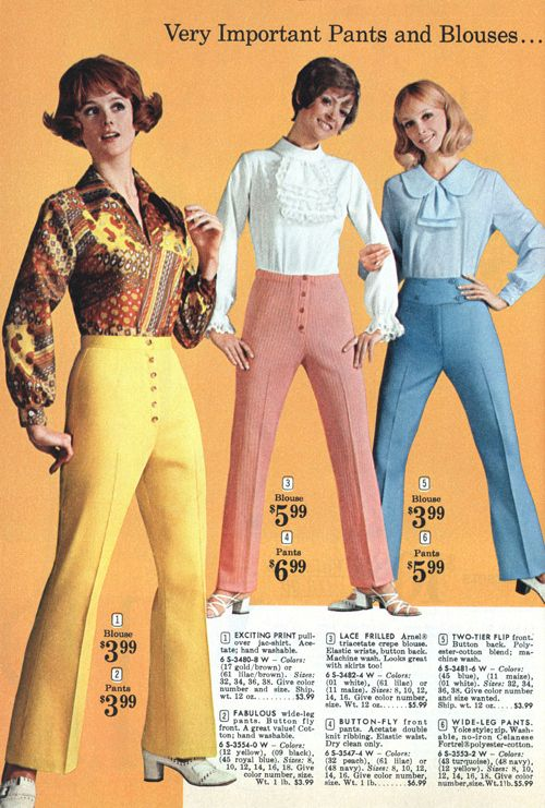 7bca59e3524b 25 Outrageous Fashion Ads From The 1970s. For the ladies! (Check out the  prices!!)