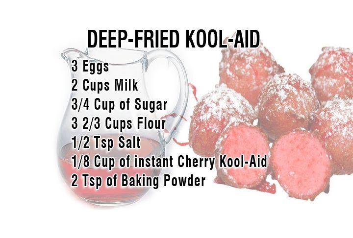 Special Request Fried Kool Aid Deep Fried Kool Aid Kool Aid