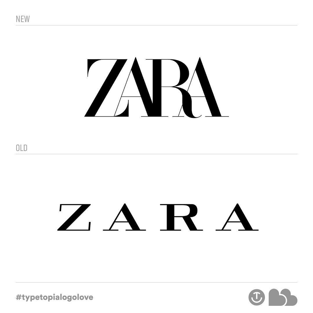 hat are your thoughts on the new @zara logo