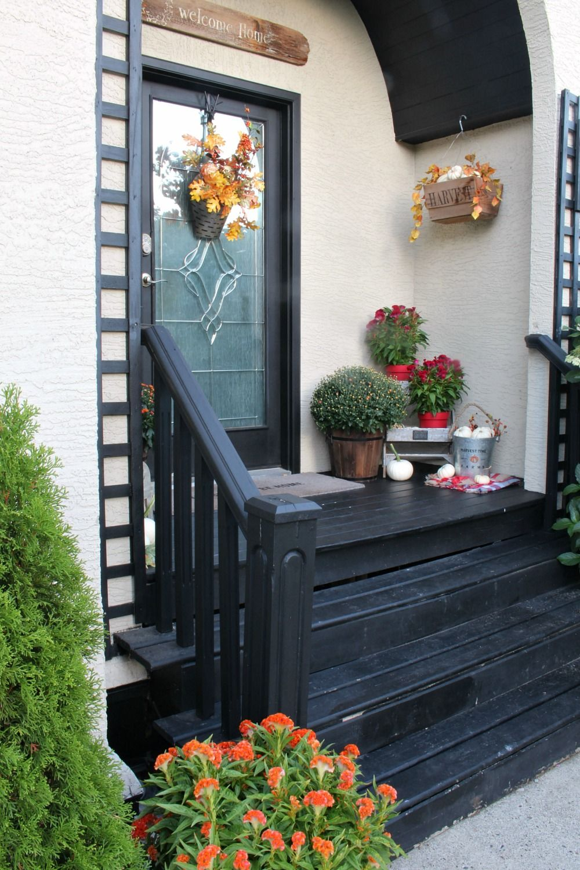 Fall Porch Decorating Ideas Rustic home design, Rustic