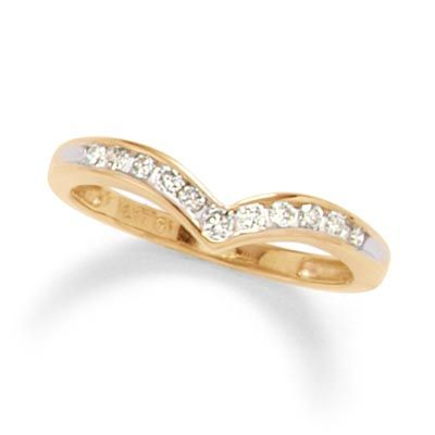 1 4 Ct T W Diamond Chevron Channel Band In 10k Gold Zales Real Gold Jewelry Yellow Gold Engagement Gold Jewelry Sets