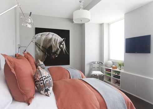 Love the horse head and the colours, very nice!   MadeByGirl: Designer: Jordan Carlyle