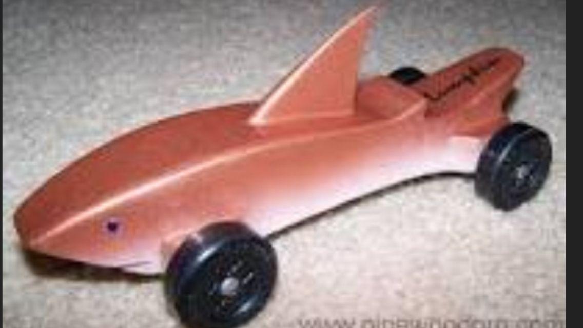 Shark car | Pinewood derby | Pinterest