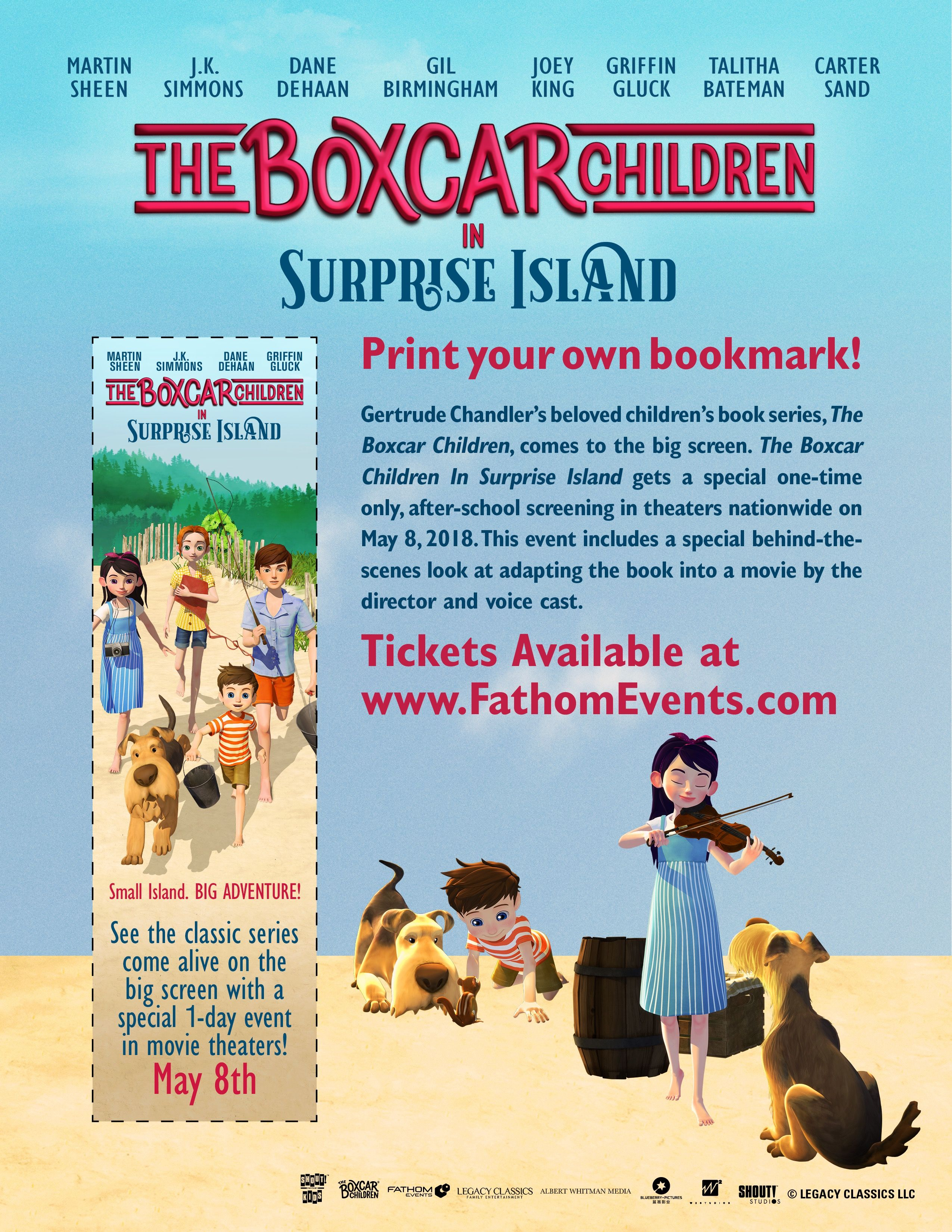 The Boxcar Children - Surprise Island coming to movie theaters ...
