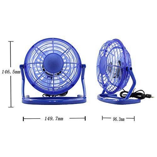 Usbmfan Usb Mini Desktop Fan Blue Visit The Image Link More