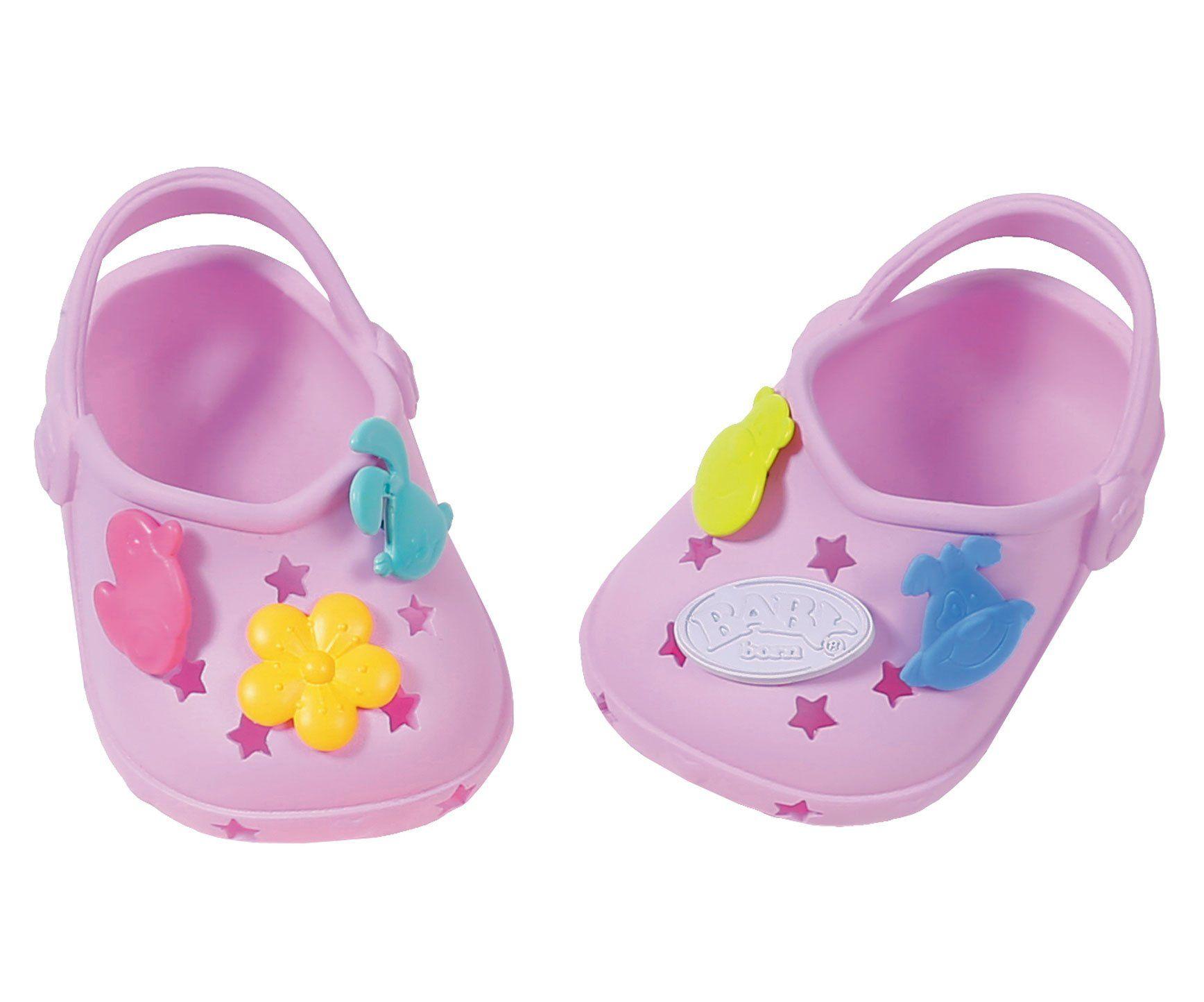 Buciki Z Przypinkami Dla Lalki Baby Born 43 Cm Crocs W Kolorze