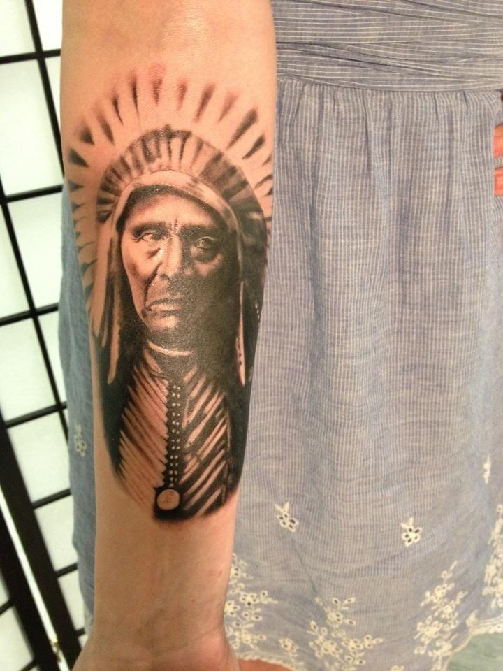David fusco at the beauty mark tattoo in canton ct i