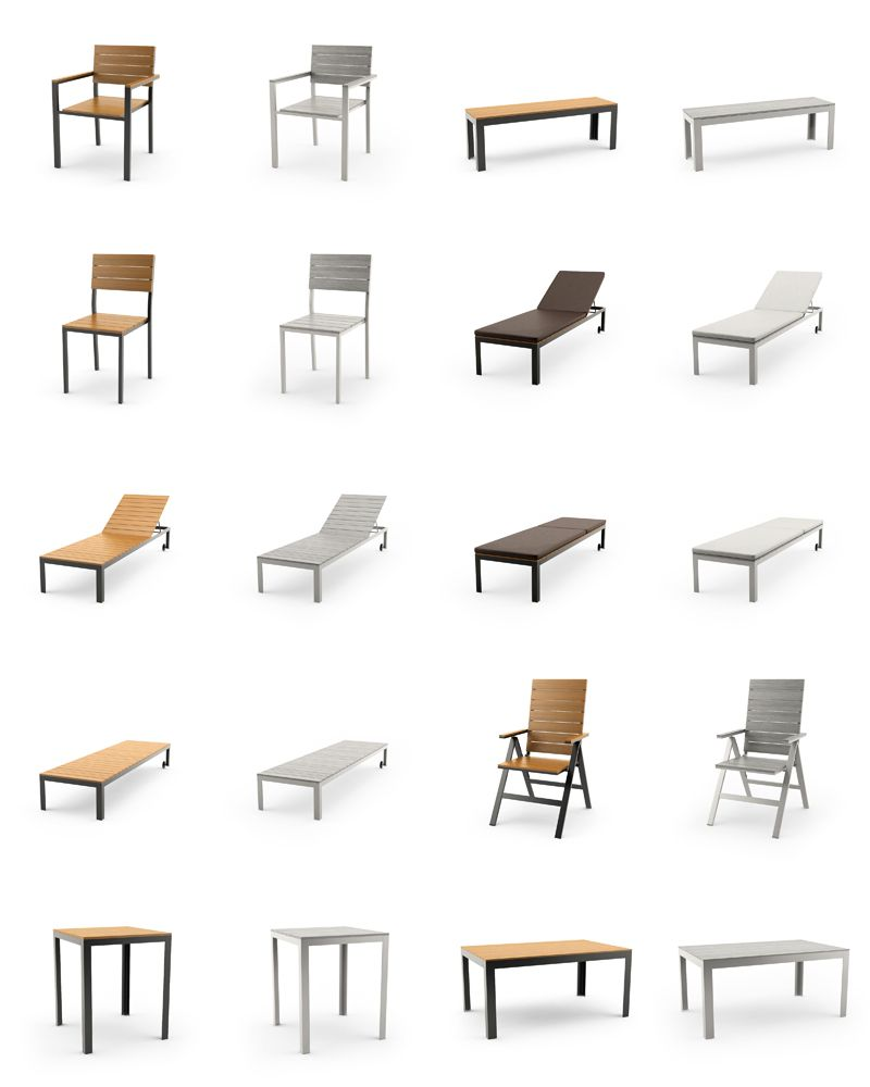 Free 3d models ikea falster outdoor furniture series for Modelli sketchup ikea