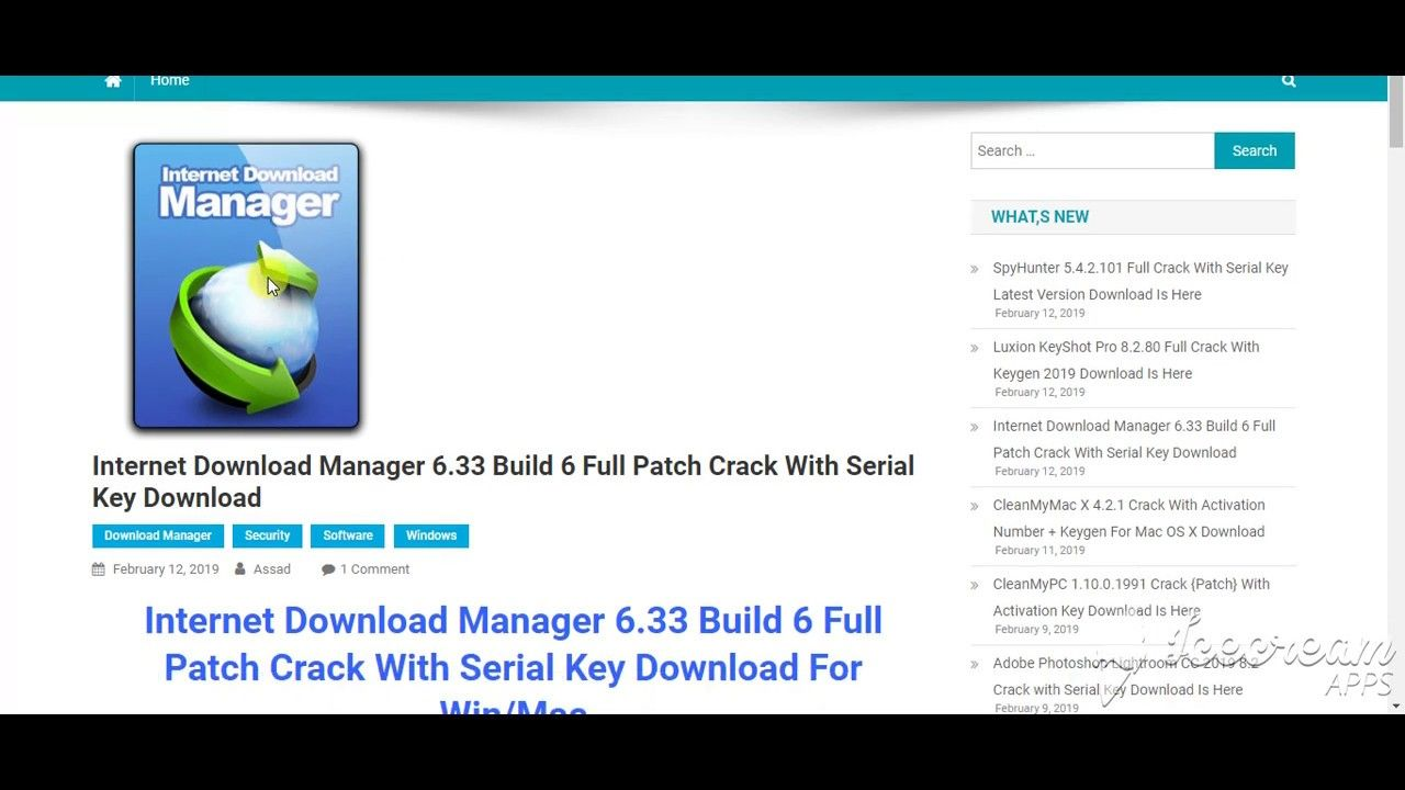 internet download manager full version download with serial key