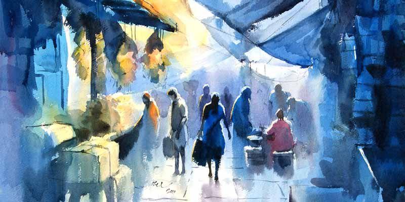 Artist Abel Watercolor Paintings Watercolor Art Artist