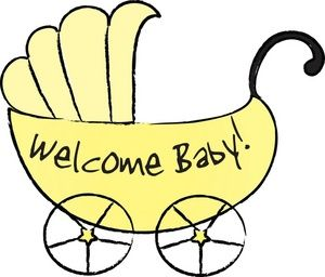 Welcome Baby Girl Drawing Welcome Baby Girls Baby Girl Clipart