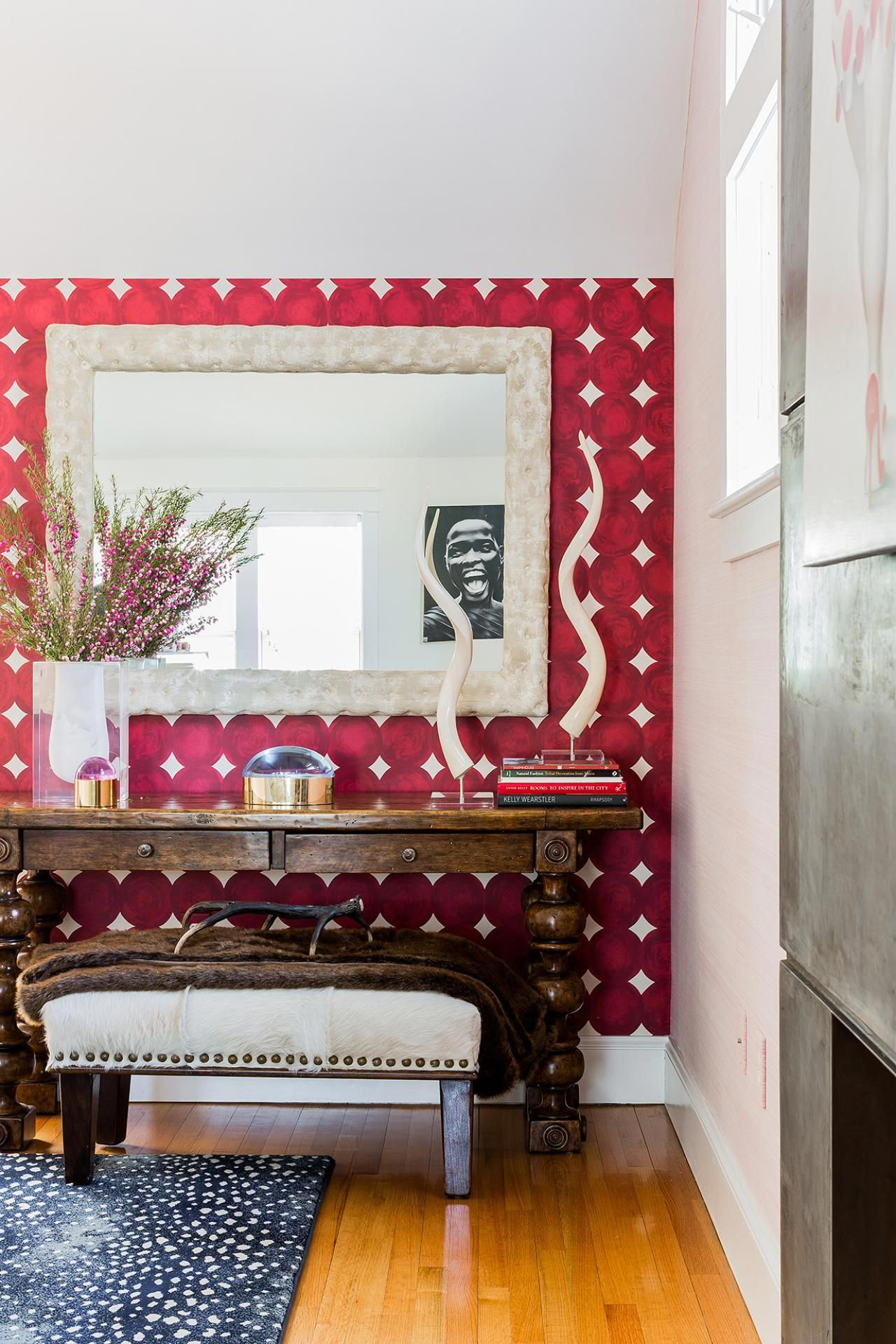 Colorful eclectic house fresh faces of design hgtv