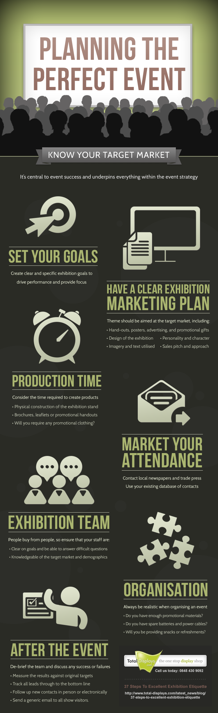 Infographic Planning The Perfect Event Event