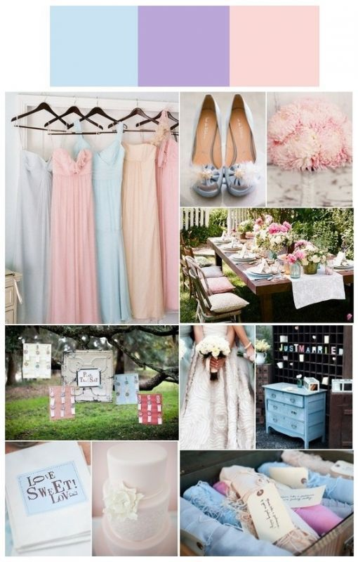 Wedding Colors Yes Or No Blue Purple Wedding Pink Blue