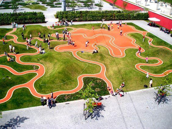 378023f42bd33d4317ad307fb45f365b Jpg 564 422 Playground Design Playground Landscaping Creative Playground