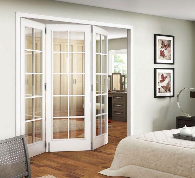 Elegant Interior Bedroom Glass Doors Bedroom Interior