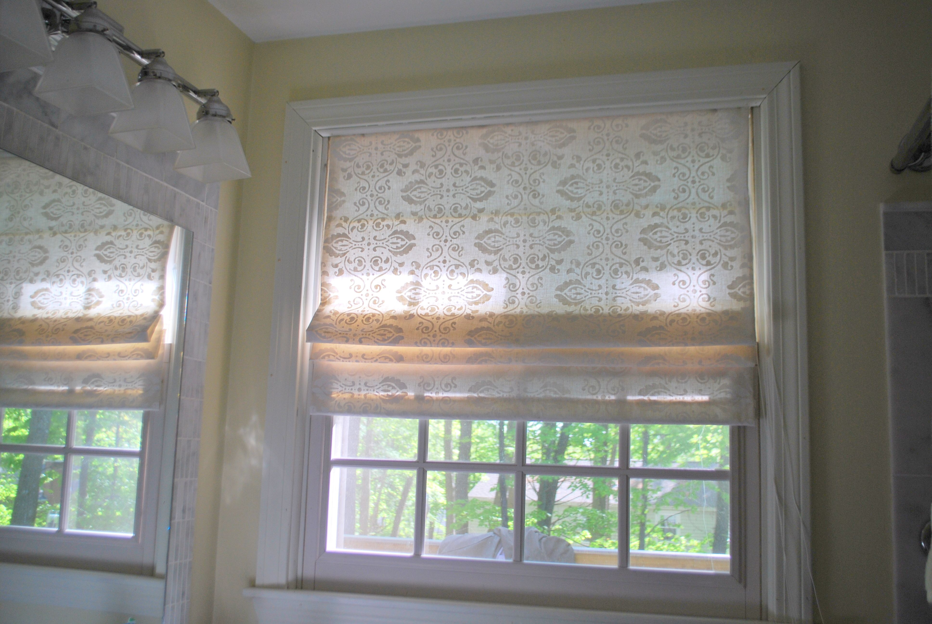 Diy Roman Shade Kits Just Finished It This Service Is Great