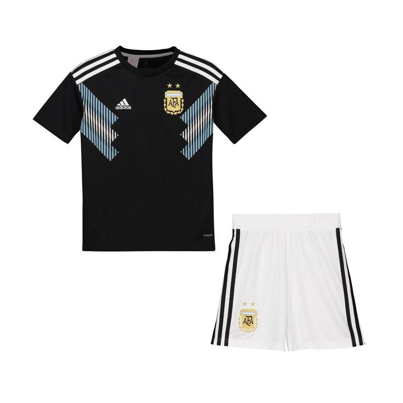 62c2ef6c4 Argentina 2018 World Cup Away Kids(Youth) Kit Personalized Name and Number
