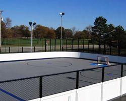 Long Island Ny Roller Hockey Courts Flex Courts Of New York In 2020 Backyard Basketball Basketball Court Backyard Hockey