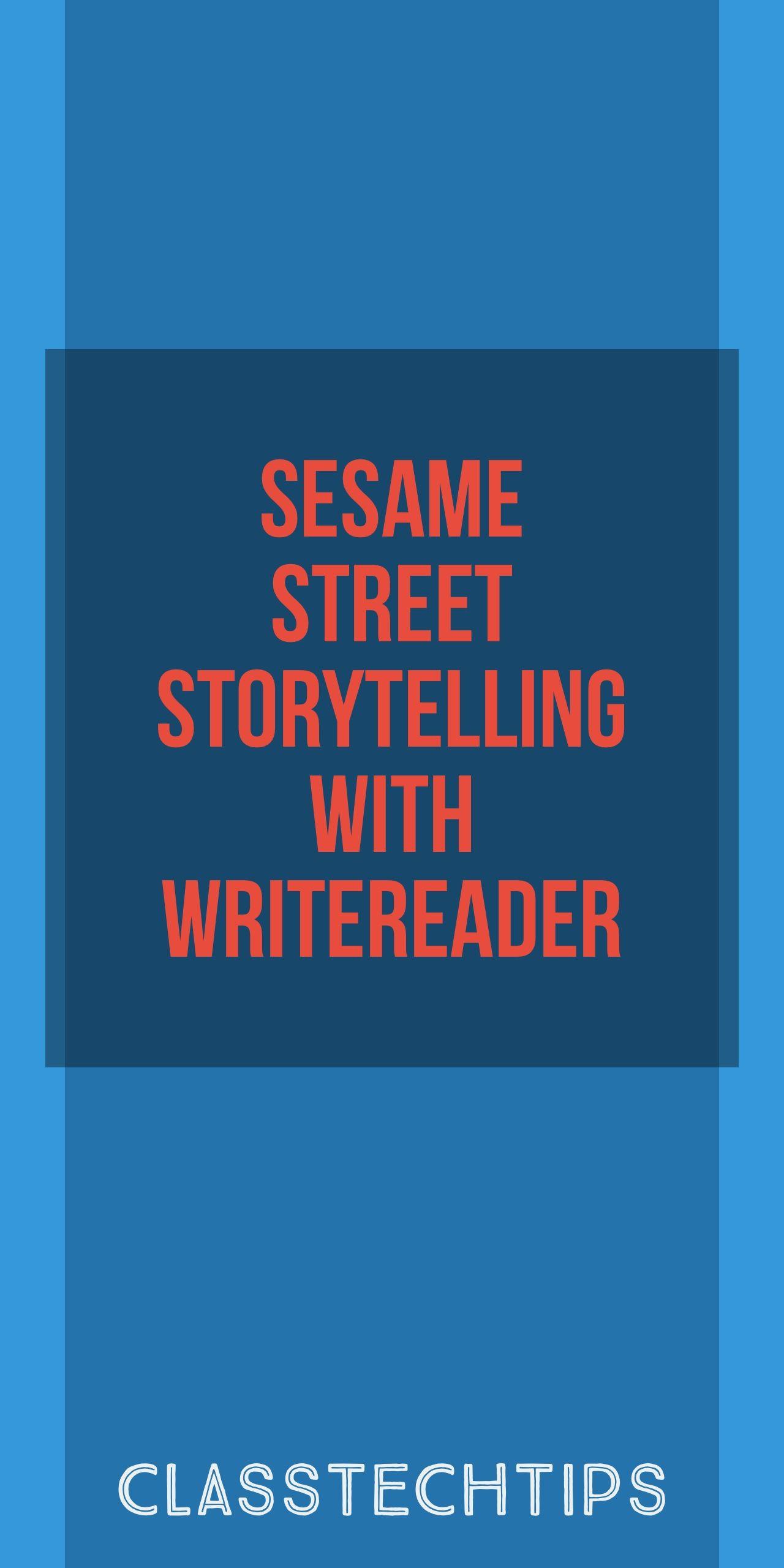 Sesame Street Storytelling with WriteReader Writing