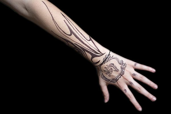 Intriguing Arm Tattoo Tattoo Design For Hand Simple Tribal Tattoos Tribal Tattoos