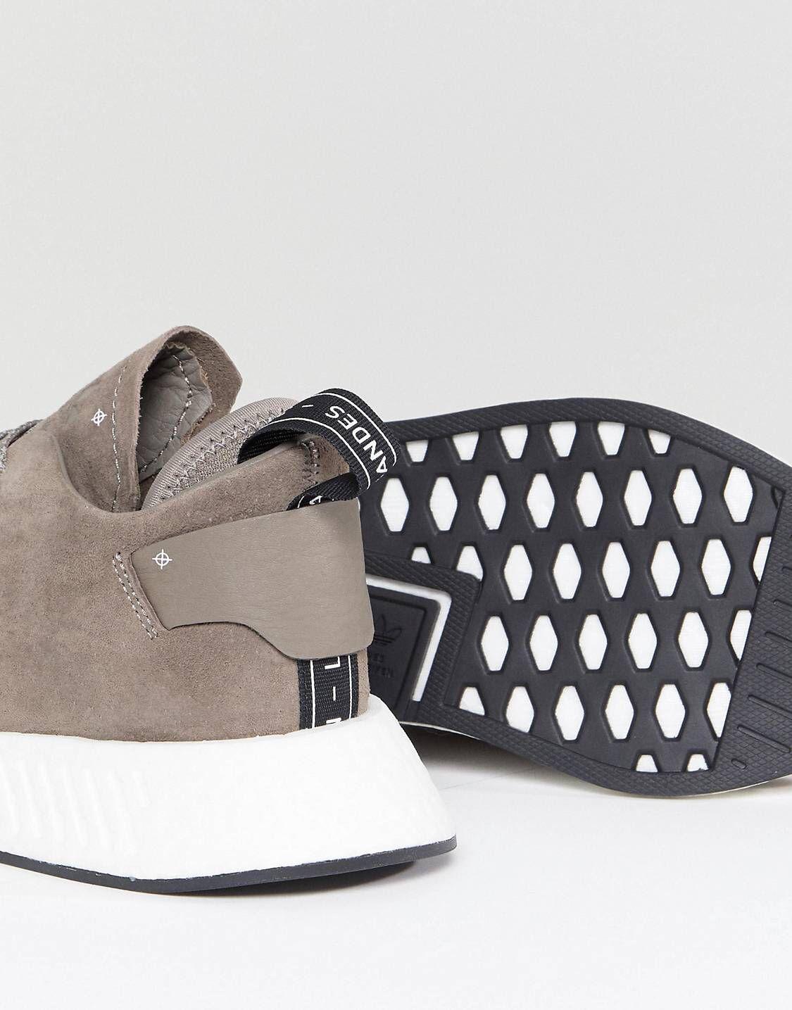 on sale c3383 31012 Nmd, Barefoot, Adidas Originals, Taupe, Fashion Online