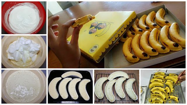 Resep Banana Cotton Cake Dari Ny Liem Manis Dan Lembut Modern Id Kue Pisang Makanan Kue