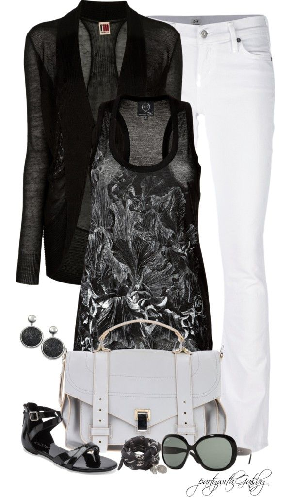 """""""Black and White (I)"""" by partywithgatsby on Polyvore"""