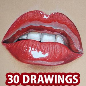 Stunning Hyper Realistic Drawings And Video Tutorials By - Artist uses pencils to create hyperrealistic drawings of paint