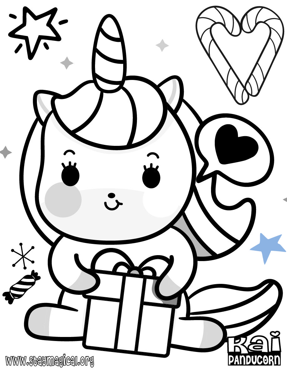 Find out printable Unicorn coloring pages here for free
